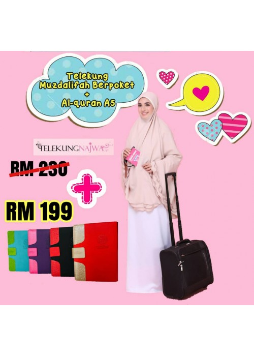 SUPER DEALS AL-QURAN TAGGING A5 + TELEKUNG POKET